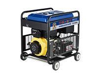 进口柴油190A发电电焊一体机,柴油TO190A,中频焊接4.0焊条可移动带轮子的电焊机