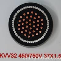 MKVV32-0.45/0.75KV煤矿用钢丝铠装控制电缆