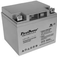 FirstPower(一电)蓄电池  LFP1238  12V38AH 机房应急 计算机系统 直流屏