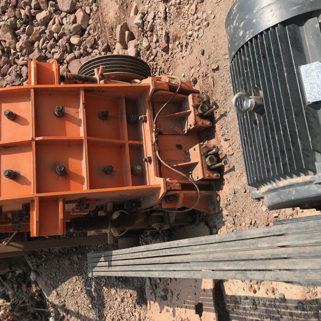 二手95新zf40新鹅暖石破碎机碎石机制砂机砂石料生产线设备低价处理