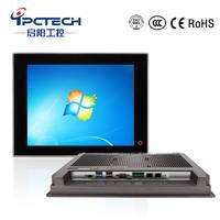 15寸电容式工业平板电脑 防水防尘嵌入式工业一体机