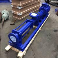 FG型316L不锈钢无极调速螺杆泵 无沙水泥螺杆泵 泥水浓浆泵