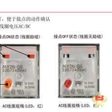MY2N-GS AC110/120 BY OMZ/C