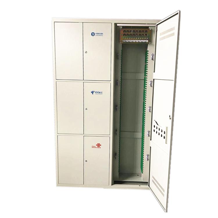 792芯三网合一光纤配线架 落地安装