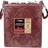 TROJAN邱健J305P-AC电瓶美国进口蓄电池电瓶适用于坦能凯驰力奇 美国进口