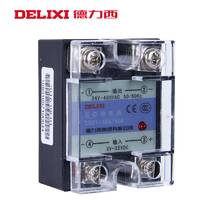 德力西CDG1-1DA40单相SSR固态继电器dc-ac40A直流控交流DA无触点  -