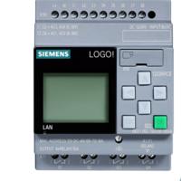 西门子PLC LOGO!8控制器12/24RCE可编程主机6ED1052-1MD08-0BA0-