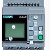 西门子PLC LOGO!8可编程逻辑控制器230RCE主机6ED1052-1FB08-0BA0-