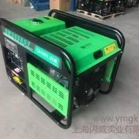 道路施工用300A汽油发电电焊机组