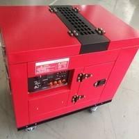 静音式发电机组汽油美国闪威SW10KWQY