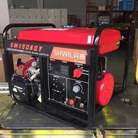 手推式移动方便190A汽油发电电焊机