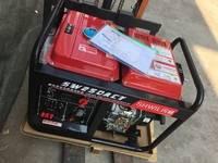 电力抢修用250A汽油发电电焊机组