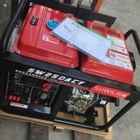 美国闪威品牌250a柴油自发电电焊一体机