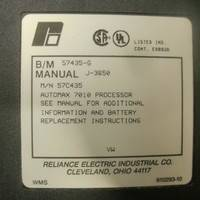 RELIANCE ELECTRIC PROCESSOR MODULE 57435-G瑞恩处理器模块销售现货