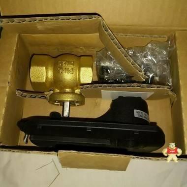 霍尼韦尔黄铜 2 路电动球阀 vba216-025p