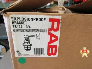 RAB eb124 -3/4 照明灯具与警卫防爆危险地点 L