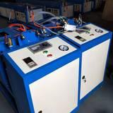 启航机械 聚氨酯喷涂机 可移动小型发泡机 太阳能冰箱浇注机 批量生产