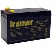 12V50AH美国Drypower蓄电池12GB50C 12V50AH免维护 储能电瓶
