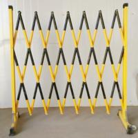 京众绝缘伸缩围栏JZ-1.2*2.5绝缘伸缩围栏