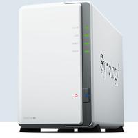 Synology群晖 DS218j 2盘位NAS网络家庭存储数据服务器私人云盘