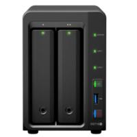 Synology群晖DS718+ 2盘位NAS 中小企业数据资料存储 私有云