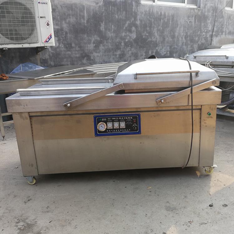 出售二手火腿肠生产线设备全自动杀菌锅全自动真空包装机数量