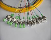 厂家直销 12芯带状尾纤 单模尾纤光纤跳线 电信级分纤箱用