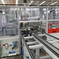 天津铝套管锭盘自动化压装设备