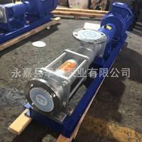 304不锈钢螺杆泵 不阻塞耐磨螺杆泵 厂家批发国标单螺杆泵