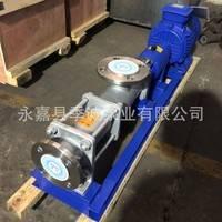 FG型304不锈钢变频单螺杆泵 变频国标螺杆泵 变频调速螺杆泵