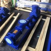 铸铁G型防爆螺杆泵 泥浆输送泵 污泥螺杆泵 防爆浓浆泵