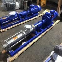 FG型304不锈钢无极调速螺杆泵 高扬程螺杆泵 浓浆输送螺杆泵