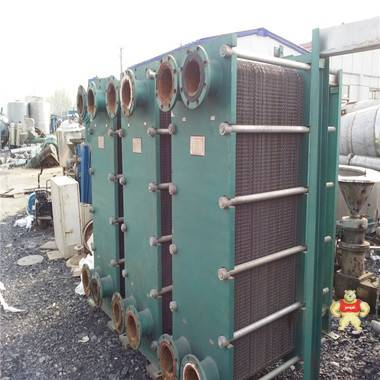 出售二手板式换热器20平方板式换热器设备低价供应 二手换热器,板式换热器,不锈钢板式换热器