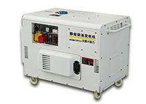 大泽动力TO14000ET静音柴油发电机10KW/千瓦等功率220V380V双缸风冷