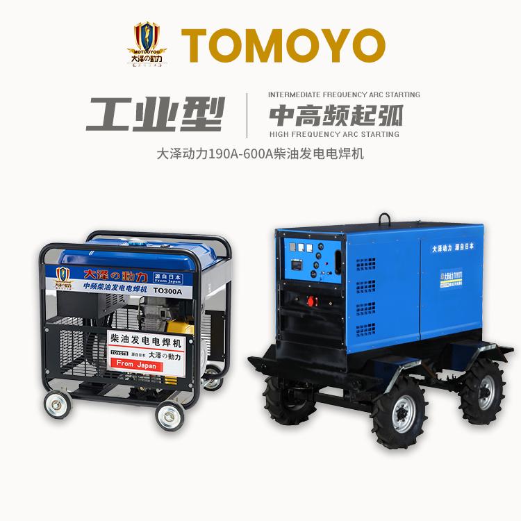 大泽动力TO190 230A 250A 280A 300A 350A自发电发电电焊一体机 190A,200A,230A,250A,300A
