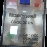 霍尼韦尔  中间继电器   12V  :  GR-2C-DC12V