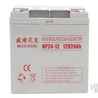 威谛尼克12V24AH消防主机 NP24-12直流屏UPS电源蓄电池免维护