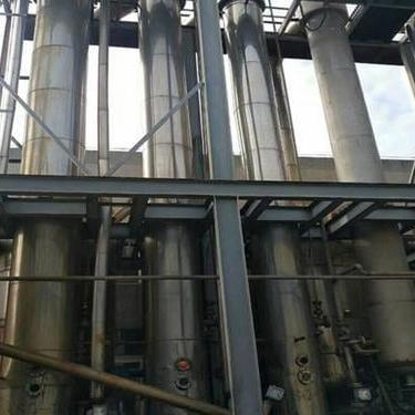 二手50吨四效蒸发器