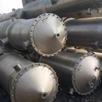 二手不锈钢降膜蒸发器浓缩蒸发器强制循环蒸发器MVR蒸发器薄膜蒸发器
