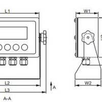 称重显示器 型号:YZ4-805TS-I-19A-CN