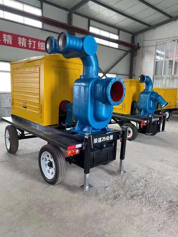 大型防洪柴油水泵大立方排水用防汛水泵防汛大型抽水机  防洪排水汽油水泵