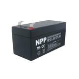 耐普蓄电池NP12-1.2Ah免维护 NPP蓄电池厂家直售