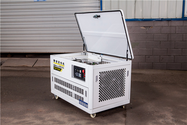 12KW双缸汽油发电机