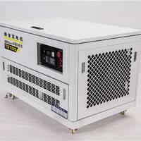 低噪音15KW四缸汽油发电机