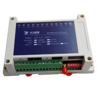 2l路模拟量采集发射接受输出4路开关量io采集继电器无线模块