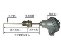 香港正润 温度传感器 WZP-230 材质304不锈钢
