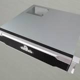 隆丰源2U380工控机箱面板带锁ATX标准服务器机箱深度38CM