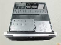 4U服务器机箱450mm工控机箱专利面板厂家直销WG4504