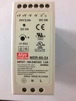 供应原装台湾明纬电源MDR-60-24
