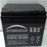 乐珀尔蓄电池12V100AH 美国乐珀尔LP100-12 UPS 免维护蓄电池